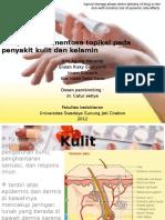 obat kulit topikal
