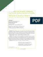 La Epistola de Amarilis a Belardo Una Misiva Del Peru Mestizo