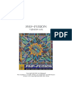 PHP Fusion HB 6012 Uk