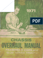 1971 Chevy Overhaul Manual