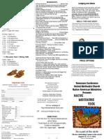 Native Moccasins Rock Brochure 2010