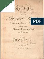 Quintetto Danzi Op. 41 Piano and Winds
