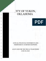 Yukon Annual Financial Statement 06-30-15 (HBC Re-Audit)