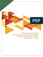 Acoes Do Conselho Nacional de Imigracao 2014