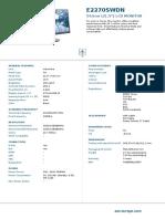 Aoc Monitor E2270SWDN (99)