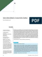 Interculturalidad y Cosmovisión Andina