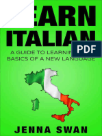 Learn Italian - A Guide to Learning the Basics of a New Language (2015)
