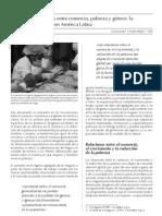Relaciones entre comercio, pobreza y género