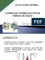 Aula 1 - Patologias Coluna Vertebral