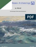 ssMendi Archaeological Desk-based Assessment
