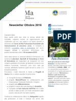 Newsletter CeDisMa Ottobre 2016