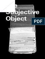 The Subjective Object