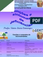2 Micros Função Deficiência Doença Fertilidade