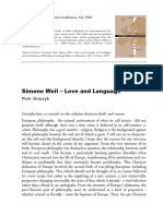 Graczyk, Piotr. Simone Weil – Love and Language, in Paradigms and Contentions.pdf
