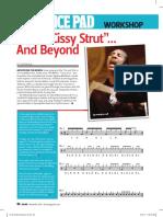 Cissy Strut Drums