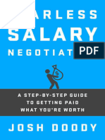 Fearless Salary Negotiation_ a Step-By-ste - Josh Doody