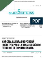 4-10-16 Marcela Guerra propondrá iniciativa para la revalidación de estudios de connacionales _ Mugs Noticias