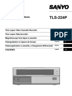 Sanyo VHR TLS 224P