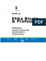 05. Modul 5 - Good Corporate Governance