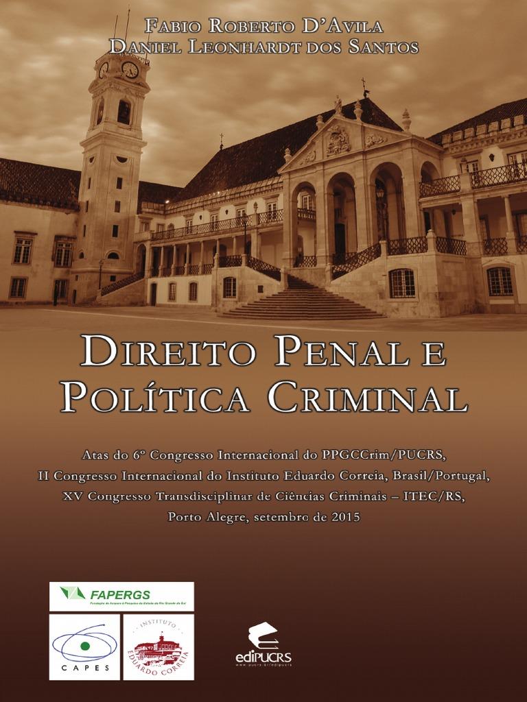 Direito e poltica criminal fandeluxe Gallery