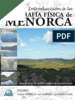 Geografía Física de Menorca Monografia 10