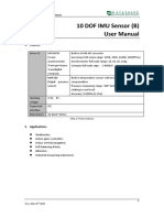 10 DOF IMU Sensor B User Manual En