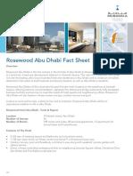 Fact Sheet Rosewood