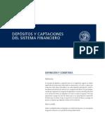 Depositos Captaciones Sistema Financiero