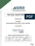 Subestaciones en 220 Kv - Puno -Juliaca - Azángaro