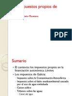 Los Impuestos Propios de Galicia