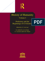 History of Humanity Volume I