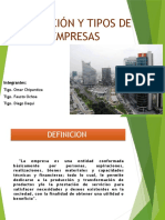 Tipos y Modelos de Empresa