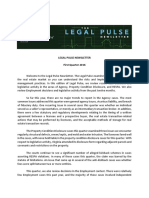 Legal Pulse 1Q 2016 Newsletter Final