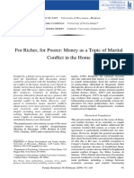 2009 for Richer, For Poorer- Money as a Topic of Marital Conflict in the Home