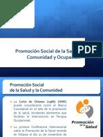 02. Promoción Social de la Salud, Comunidad y Ocupación