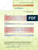 Osteomielitis Revision