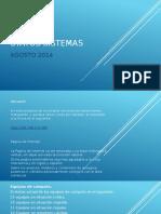 Status Sistemas Agosto 2014.