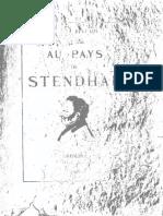 Au pays de Stendhal - Faure, Gabriel, b. 1877.pdf