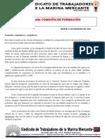 35. Comunicado Comisión Formación