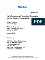 High-Frequency Protection Concepts for PS