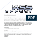 Mass Effect Cypher System