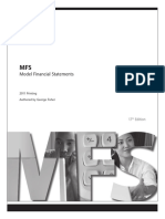 Model Financial Statement for Different Types of Business (Canada)