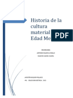 Historia Cultura Material en La Edad Media