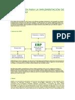 Metodología Para La Implementación de Sistemas Erp