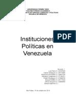 instituciones políticas en venezuela