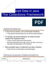 Structured Data in Java-collection