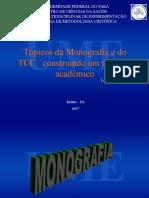 Aula-metodologia, Monografia e TCC