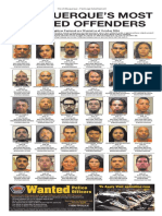 Albuquerque's Most Wanted Offenders 10-21-16