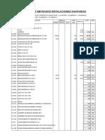 PLANILLA DE METRADOS INSTALACIONES SANITARIAS.xls