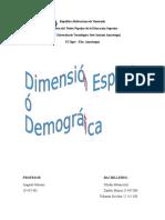 Dimension Geogrfica